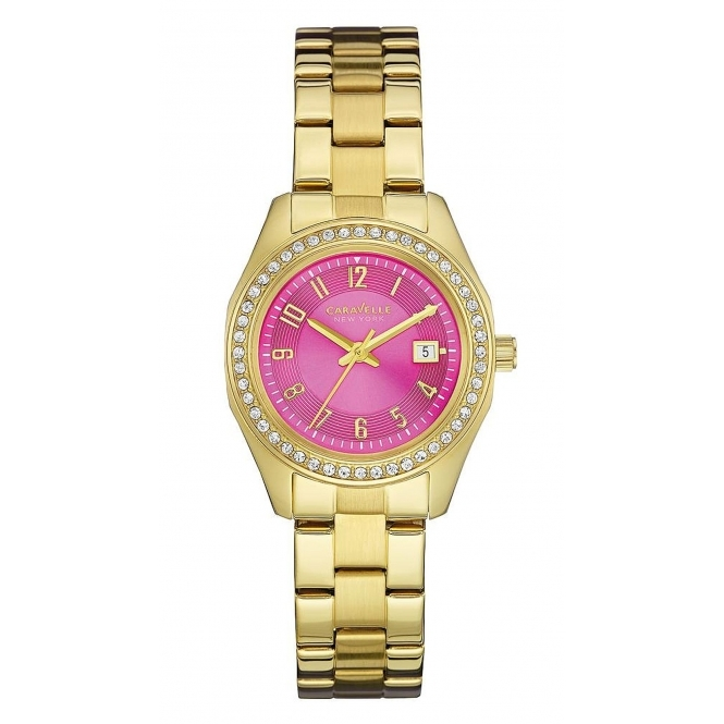 Caravelle New York 44M107 Ladies' Perfectly Petite Wristwatch