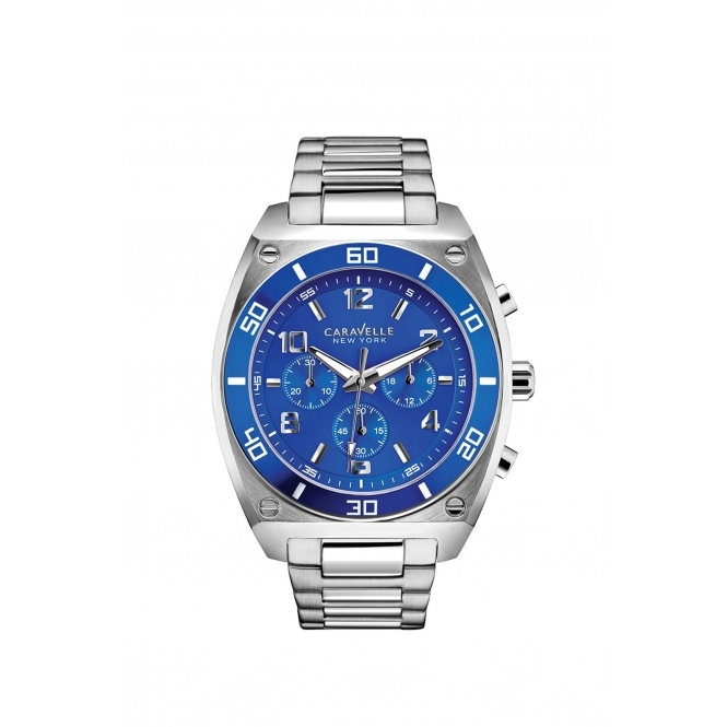 Caravelle New York 45A109 Gent's Clark Chronograph Watch