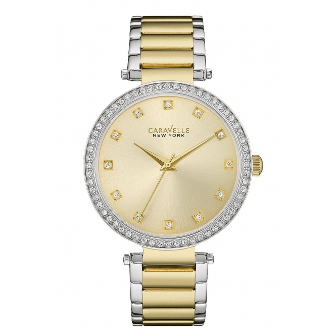 Caravelle New York 45L154 Ladies' T-Bar Watch