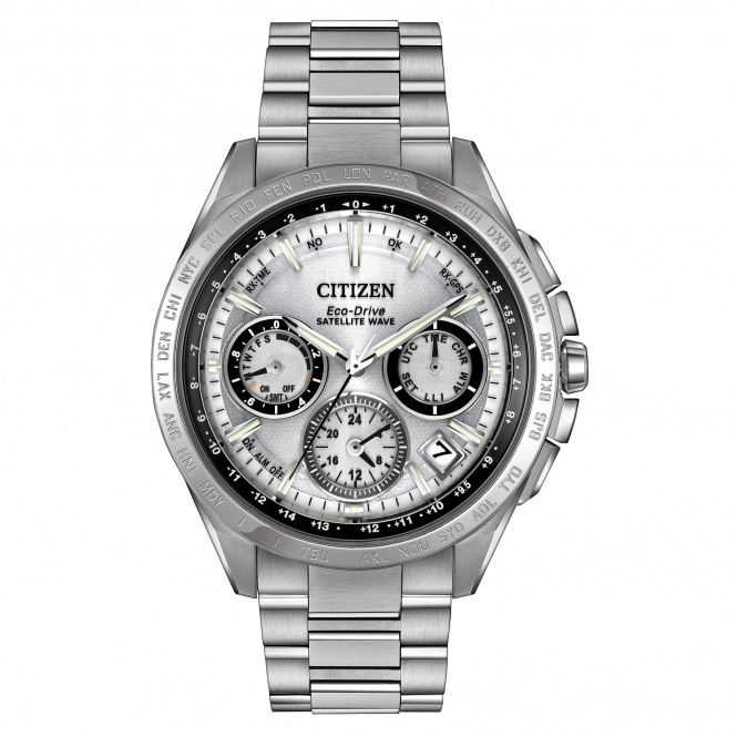 Citizen CC9010-74A Men's Satellite Wave F900 Wristwatch