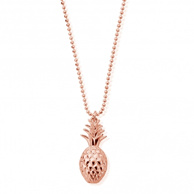 ChloBo RCDC2393 Diamond Cut Chain With Pineapple