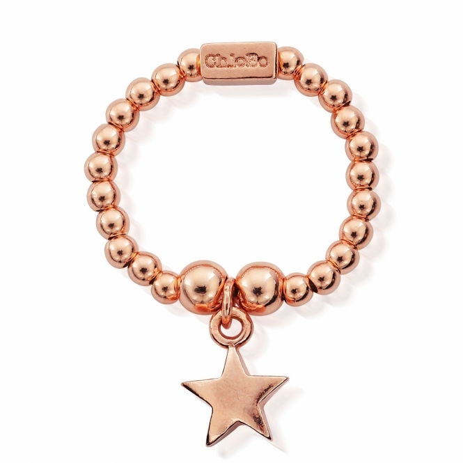 ChloBo RRM2802 Women's Mini Star Ring
