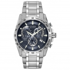 Citizen AT4011-57L Men's Chrono A-T Titanium Eco-Drive