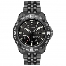 Citizen AW7047-54H Men's Power Reserve Eco-Drive Wristwatch
