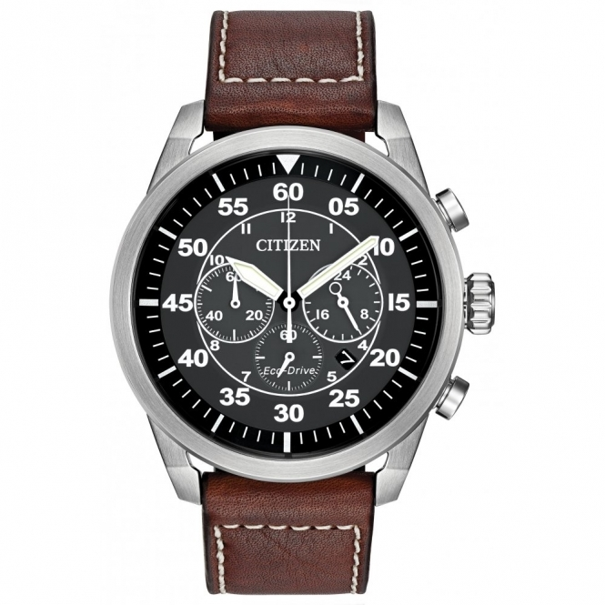 Citizen CA4210-24E Men's Avion Eco-Drive Wristwatch