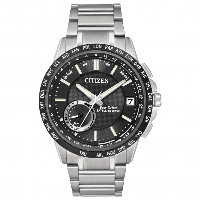 Citizen CC3005-85E Men's Satellite Wave-World Time GPS Wristwatch