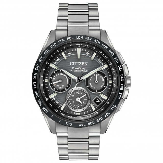 Citizen CC9015-71E Men's Satellite Wave F900 Wristwatch