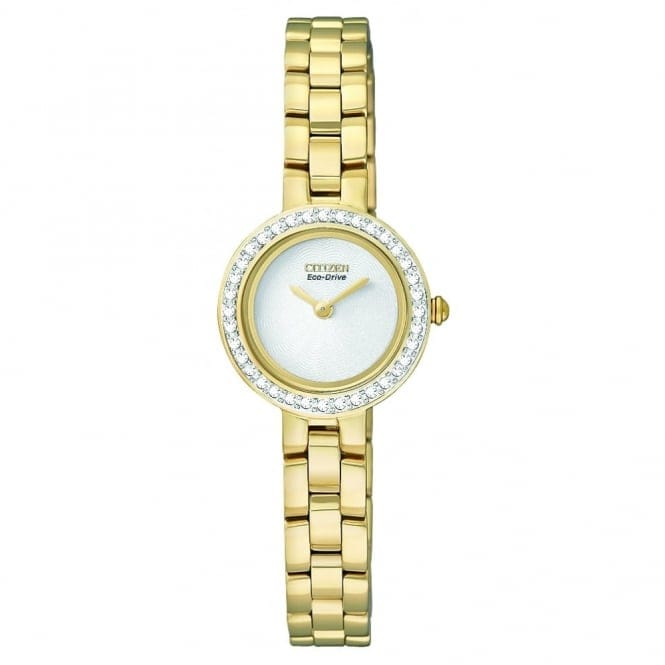 Citizen EX1082-51A Women's' Silhouette Crystal Eco-Drive