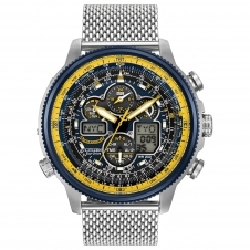 Citizen JY8031-56L Navihawk Blue Angels Eco-Drive