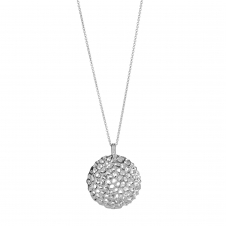 Rachel Galley D102-SV Women's Memento Disc Locket Pendant