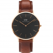 Daniel Wellington DW00100124 Classic Black St Mawes Wristwatch