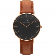 Daniel Wellington DW00100138 Classic Black Durham Wristwatch