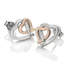 Hot Diamonds DE532 Amour Hearts Stud Earrings
