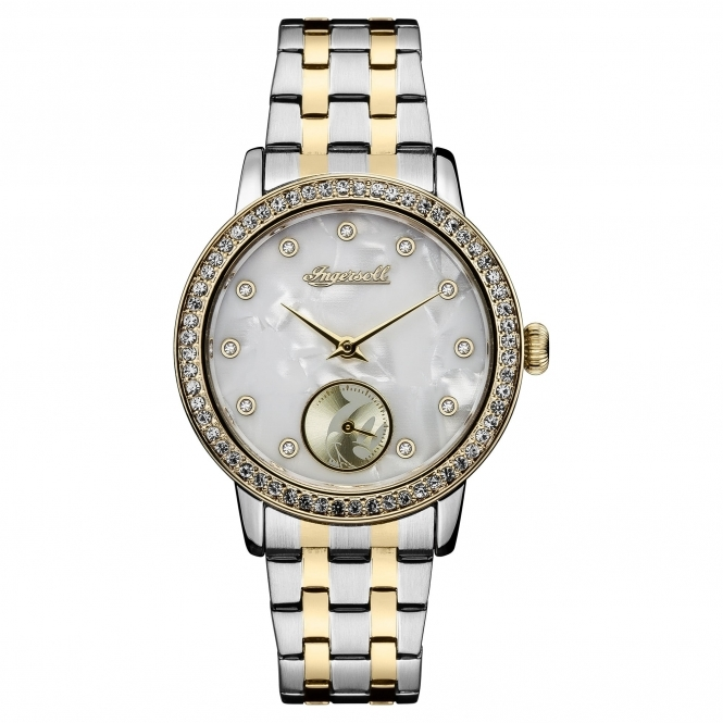 Disney By Ingersoll ID00801 Women's Stone Set Wristwatch