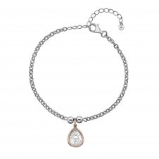Hot Diamonds DL562 Faith Teardrop Bracelet