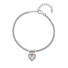 Hot Diamonds DL563 Faith Heart Bracelet