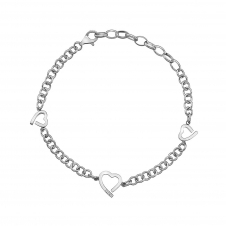 Hot Diamonds DL564 Amore Hearts Bracelet
