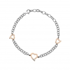 Hot Diamonds DL565 Amore Hearts Bracelet