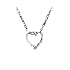 Hot Diamonds DP625 Glide Heart Pendant