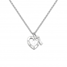 Hot Diamonds DP653 Lock In Love Pendant