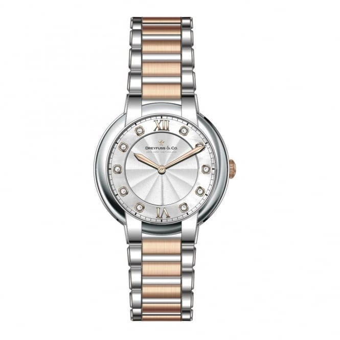 Dreyfuss & Co DLB00062-D-01 Women's Diamond Set Wristwatch