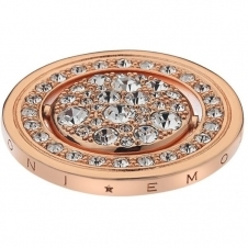 Emozioni EC219 Terra a Luce Rose Gold Plated Coin - 33mm