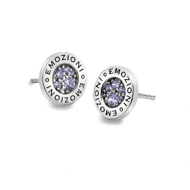 Emozioni EE005 Scintilla Violet Spirituality Earrings