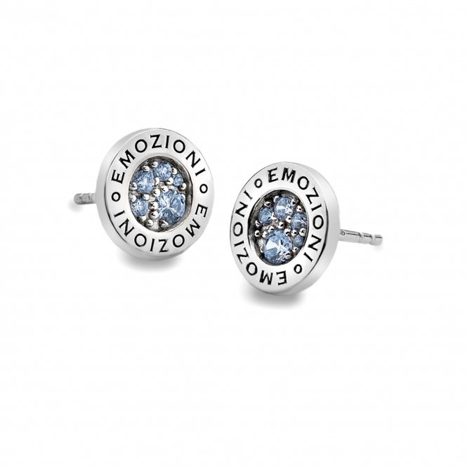 Emozioni EE007 Scintilla Blue Peace Earrings