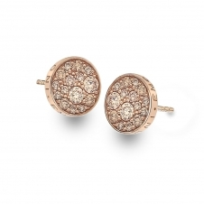 Emozioni EE012 Scintilla Champagne Silver Earrings