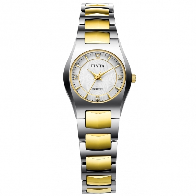 Fiyta WL8060001.WWT Women's Tungsten Quartz Wristwatch
