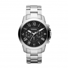 Fossil FS4736IE Grant Chronograph Stainless Steel Wristwatch