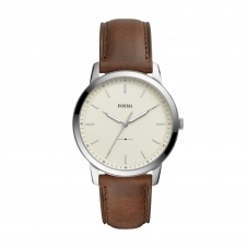 Fossil FS5439 The Minimalist Three Hand Brown Leather Wristwatch