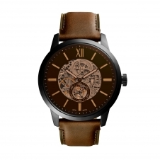 Fossil ME3155 Townsman Automatic Brown Leather Wristwatch