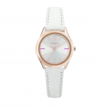 Furla R4251101505 Women's Eva White Dial Wristwatch