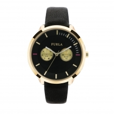Furla R4251102501 Women's Metropolis Black Dial Wristwatch