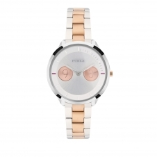 Furla R4253102507 Women's Metropolis Two Tone Wristwatch