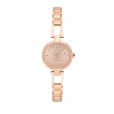 Furla R4253106501 Women's Linda Rose Gold Tone Dial Wristwatch