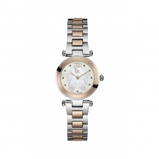GC Y07002L1 Ladychic Rose Gold/Silver Two Tone Wristwatch