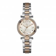 GC Y18002L1 Ladychic Silver/Rose Gold Two Tone Wristwatch