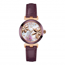 GC Y22001L3 Ladybelle Rose Gold/Magenta Tone Wristwatch