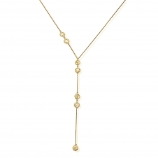 ChloBo GNL800 Women's Positive Vibes Lariat Necklace