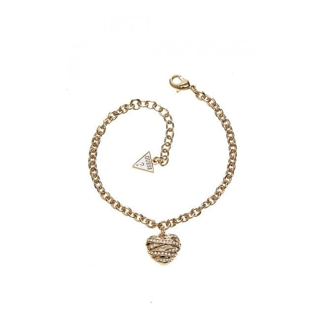 Guess UBB21595-L Women's Wrapped With Love Bracelet