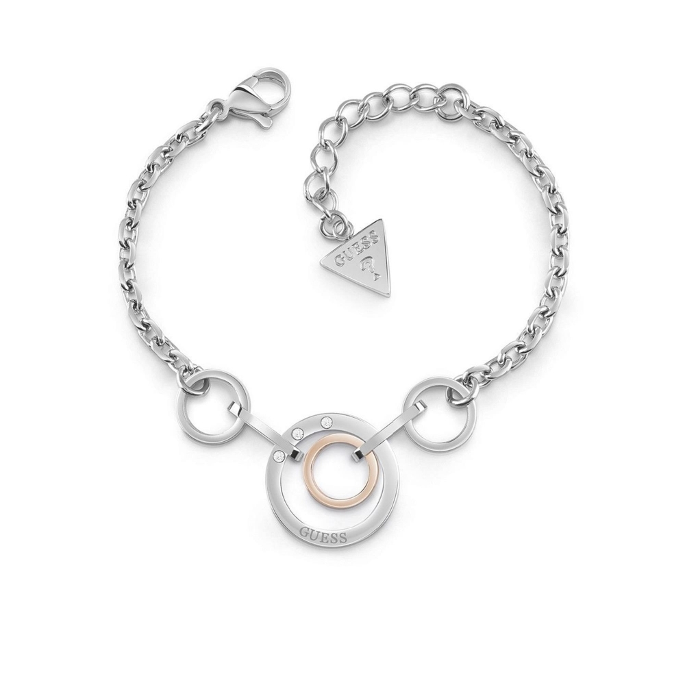 Guess UBB29030-L Women's Eternal Circles Bracelet