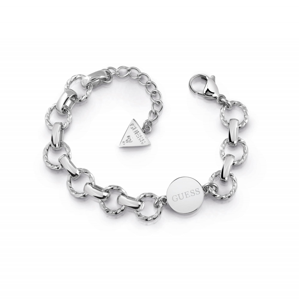 Guess UBB29033-L Women's Chain Reaction Bracelet