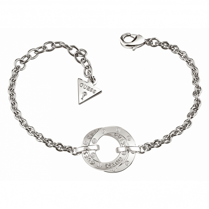 Guess UBB83066-L Women's E-Motions Circles Bracelet