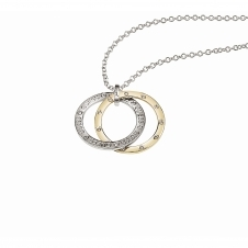 Guess UBN83101 Women's E-Motions Large Circles Necklace