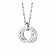 Guess UBN83103 Women's E-Motions Small Circles Necklace