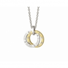 Guess UBN83104 Women's E-Motions Small Circles Necklace