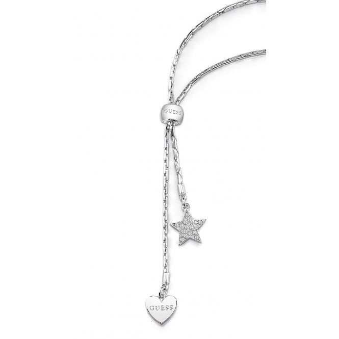 Guess UBN84033 Women's Love Chain Necklace