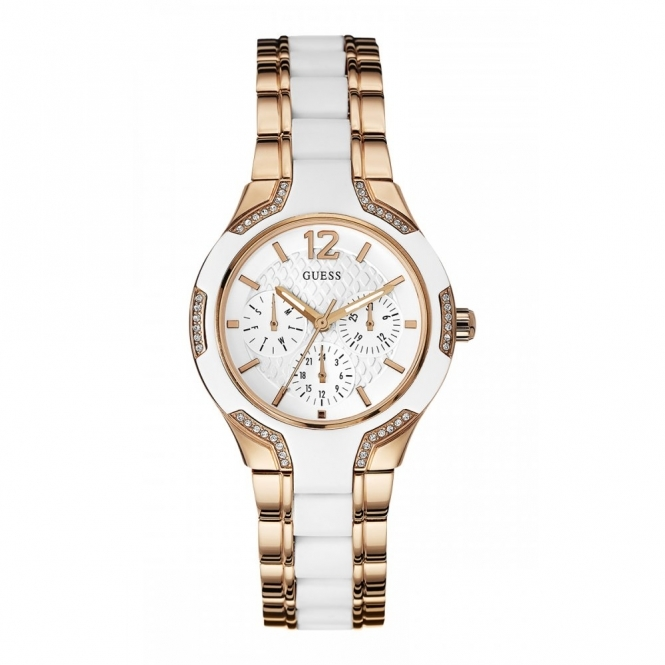 Guess W0556L3 Women's Center Stage Wristwatch
